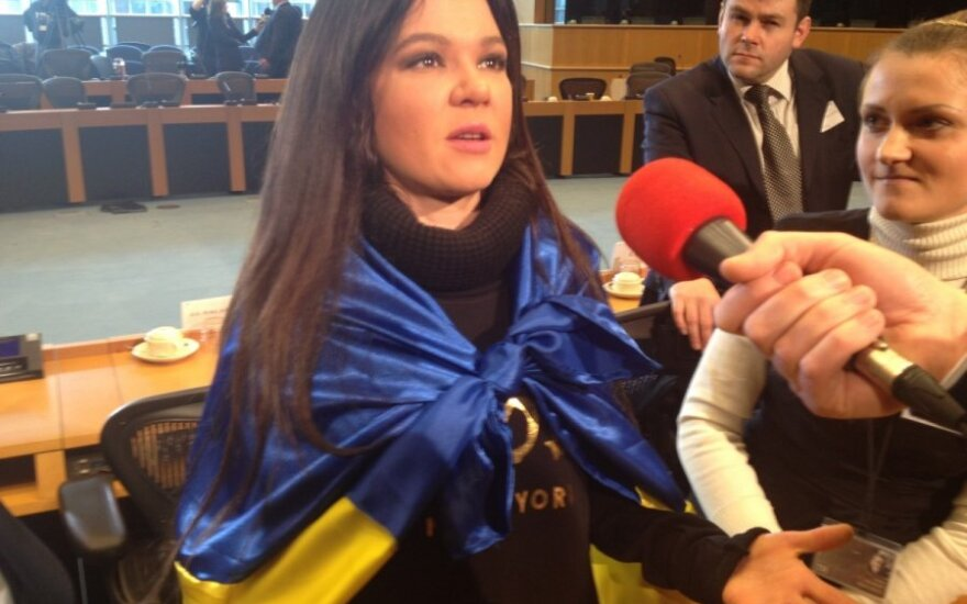 Ruslana apsilankė Europos Parlamente