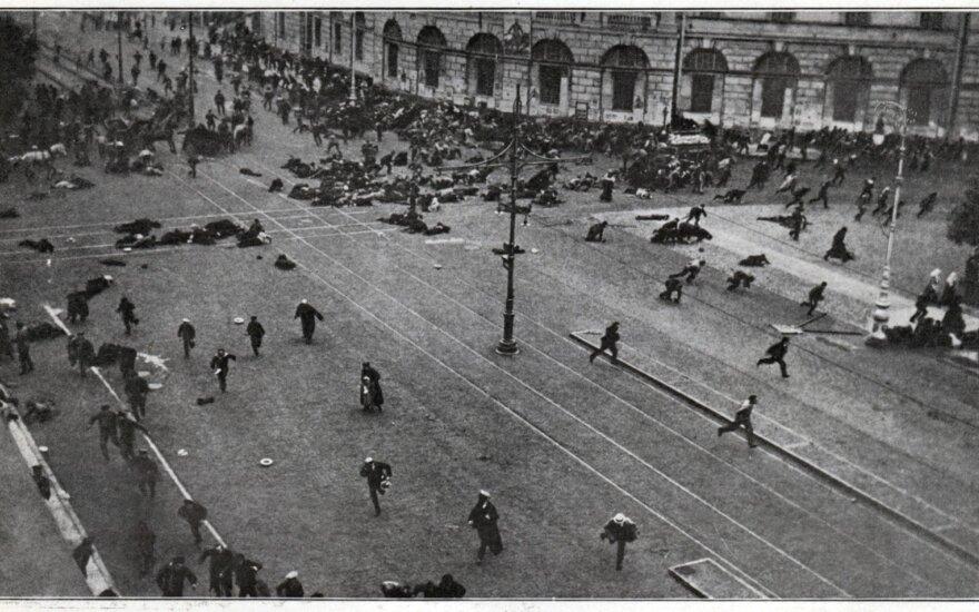 В.Лаучюс. Революция 1917 года: кто помог темным силам и предал Белую гвардию