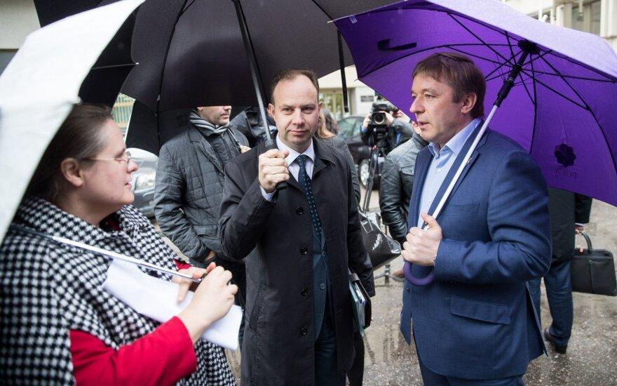 Agnė Širinskienė, Aurelijus Veryga, Ramūnas Karbauskis