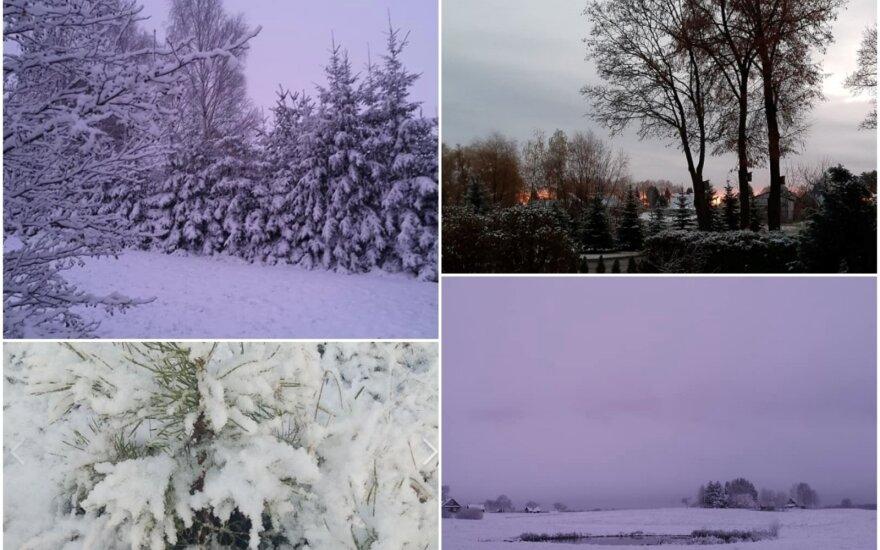 Žiemiški vaizdai