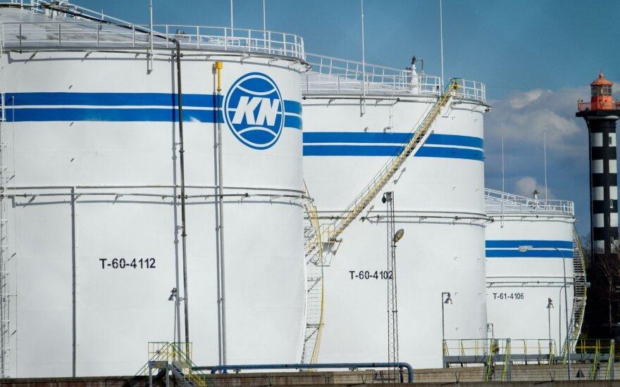 Klaipedos nafta отгрузит рекордно большой объем мазута