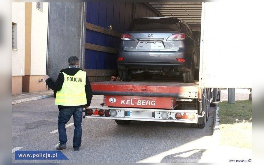 Skradzione samochody. Foto: policja.pl