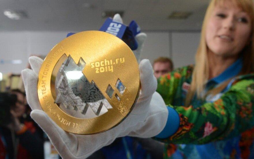 Sočio olimpinių žaidynių aukso medalis