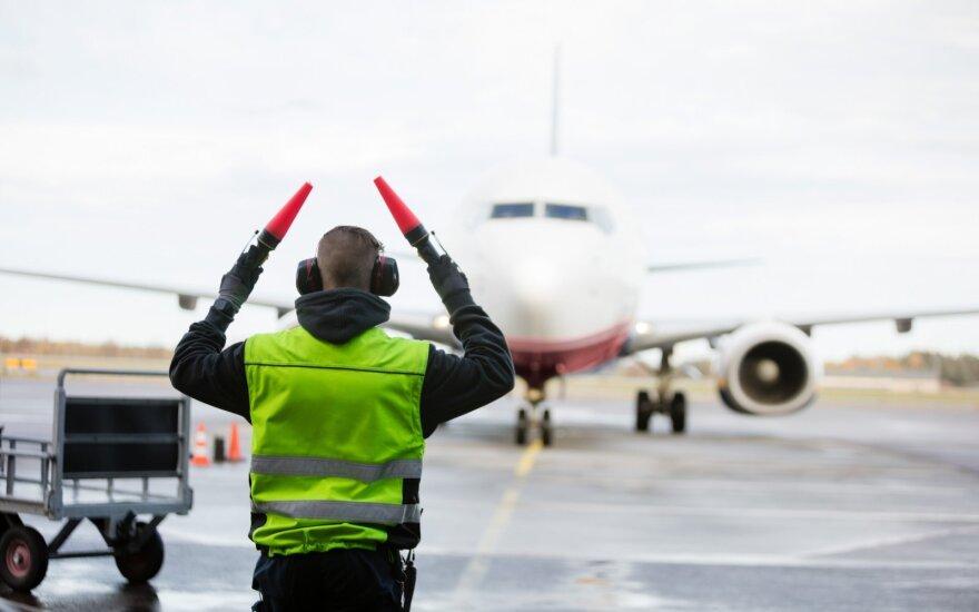 В Вильнюс из Лондона прилетели 218 человек