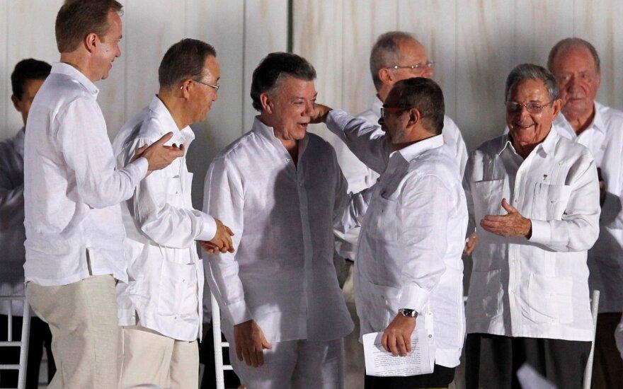 Мирное соглашение в Колумбии завершило полувековой конфликт