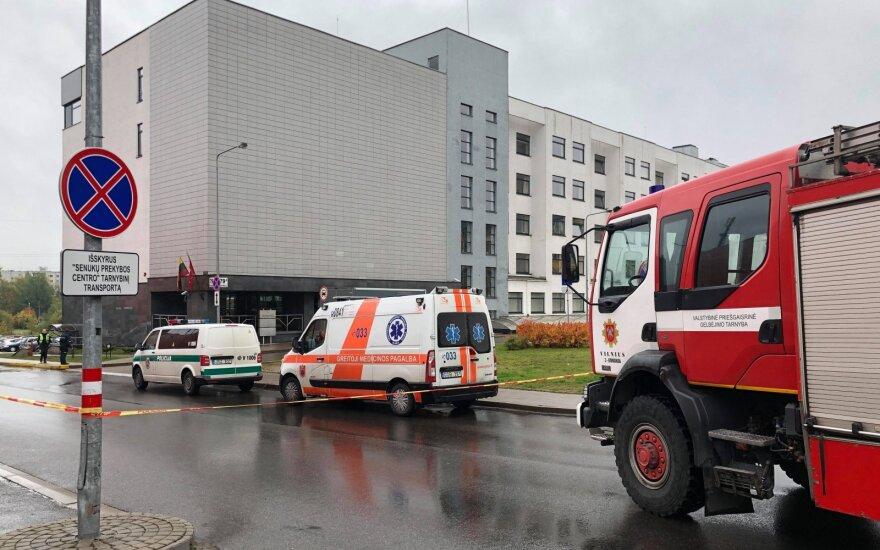 В Вильнюсе из-за сообщения о бомбе эвакуирован участковый суд