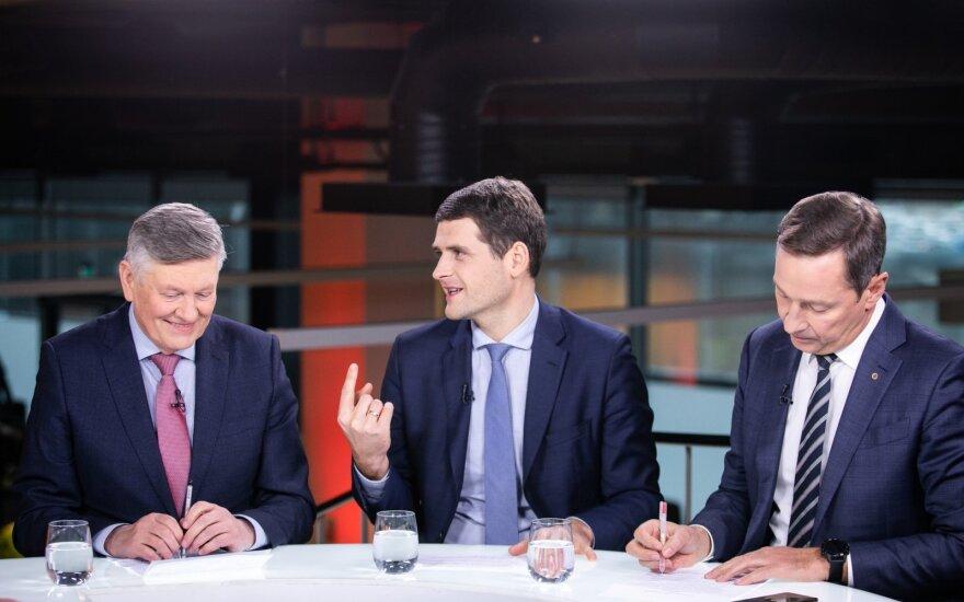 """""""Один за всех, и все за Литву"""": трое политиков-мушкетеров собрались на выборы"""
