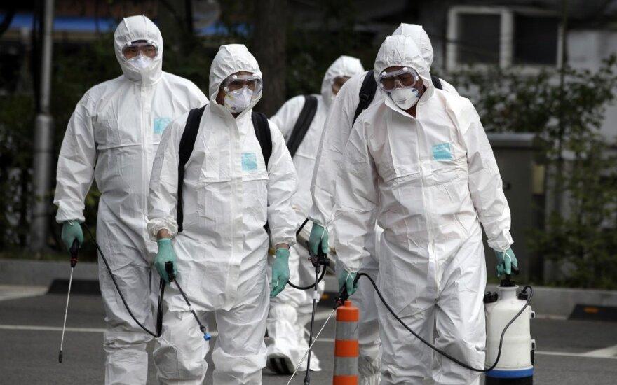 MERS viruso protrūkis Pietų Korėjoje