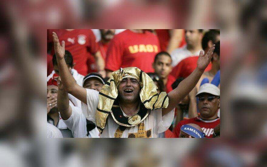 Egipto futbolo rinktinės fanas