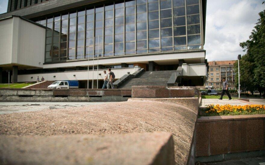 В Вильнюсе вскоре откроется фонтан у Театра оперы и балета