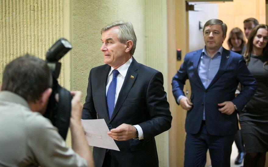Viktoras Pranckietis ir Ramūnas Karbauskis