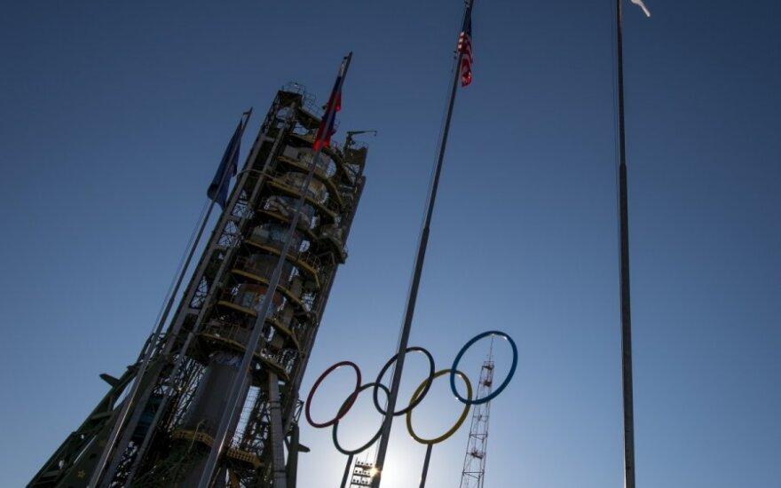 Olimpinis deglas keliaus į atvirą kosmosą