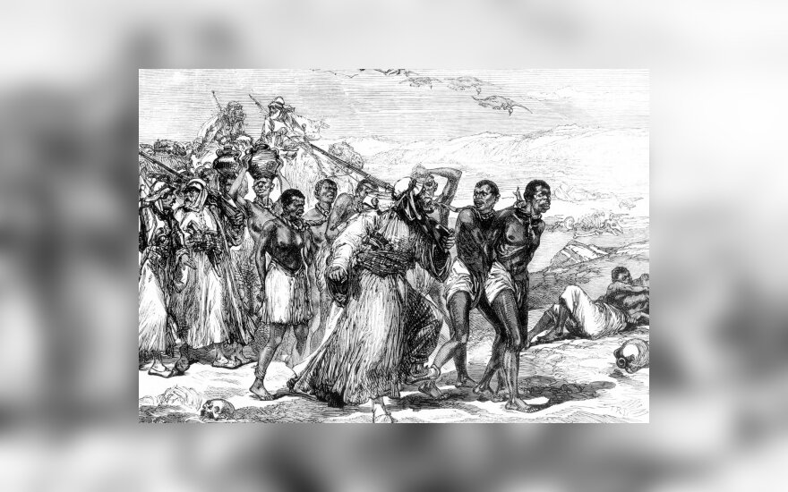 Снова оживает рабовладельческий строй