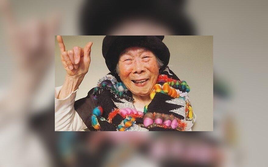 ФОТО: 93-летняя японская бабушка стала моделью