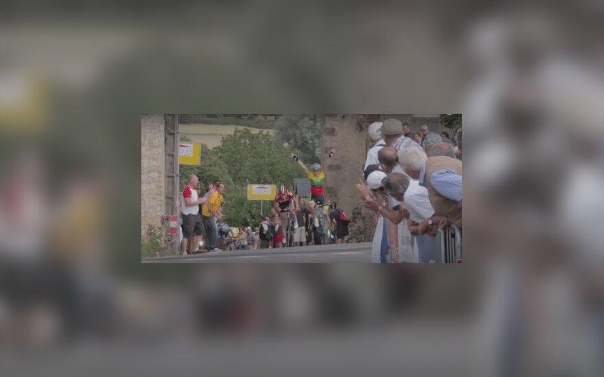 Литовская велогонщица курьезным образом упустила победу