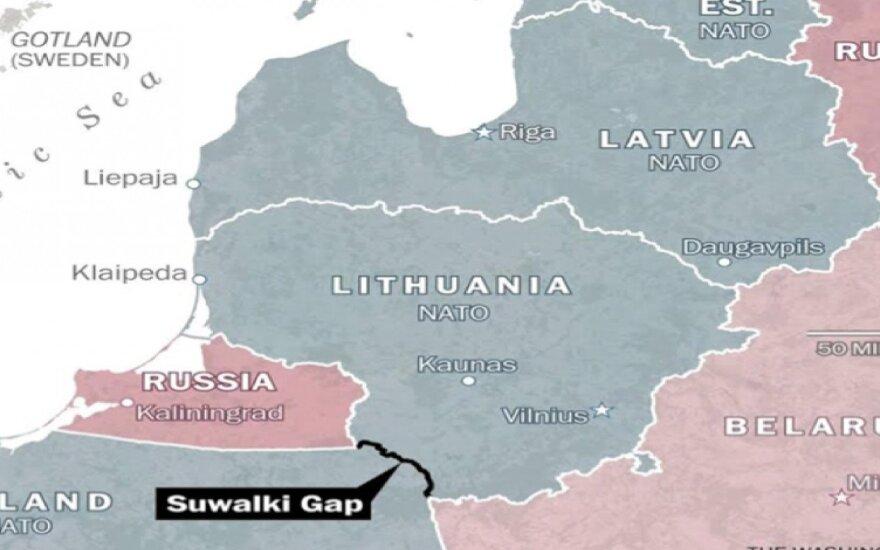 США определились: военные будут охранять коридор между Польшей и Литвой