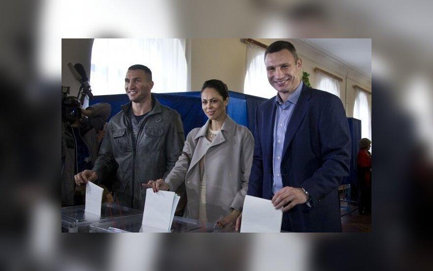 Экзит-полл: Кличко лидирует на выборах мэра Киева