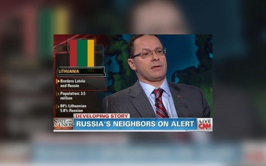 Ž. Pavilionis CNN laidoje