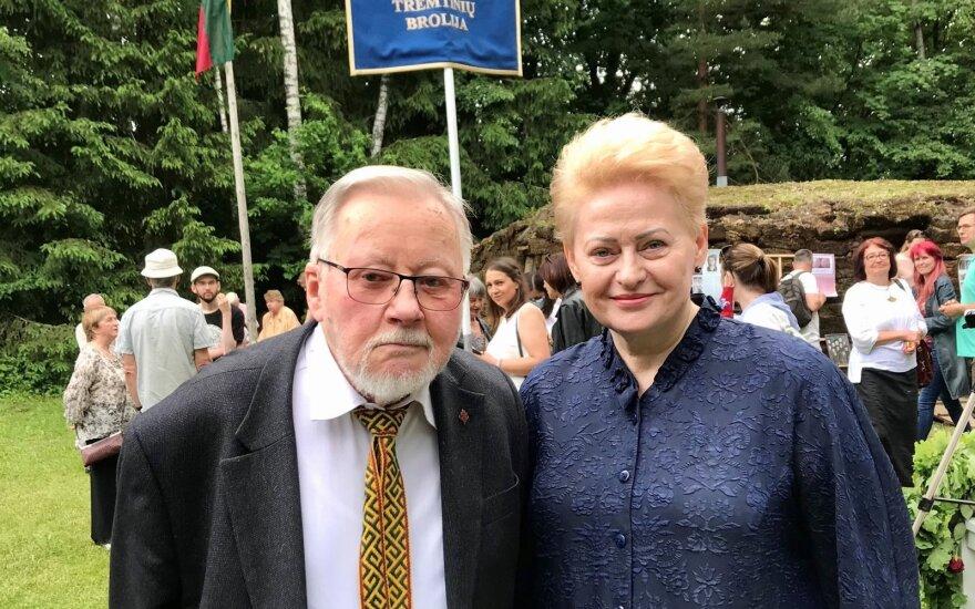Prezidentė Dalia Grybauskaitė dalyvauja lapteviečių brolijos susitikime