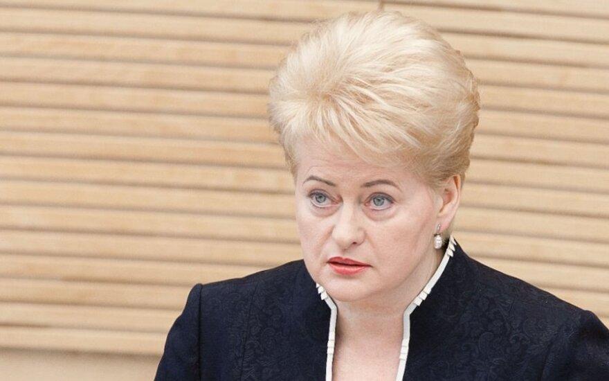 Грибаускайте наложила вето на закон об НДС