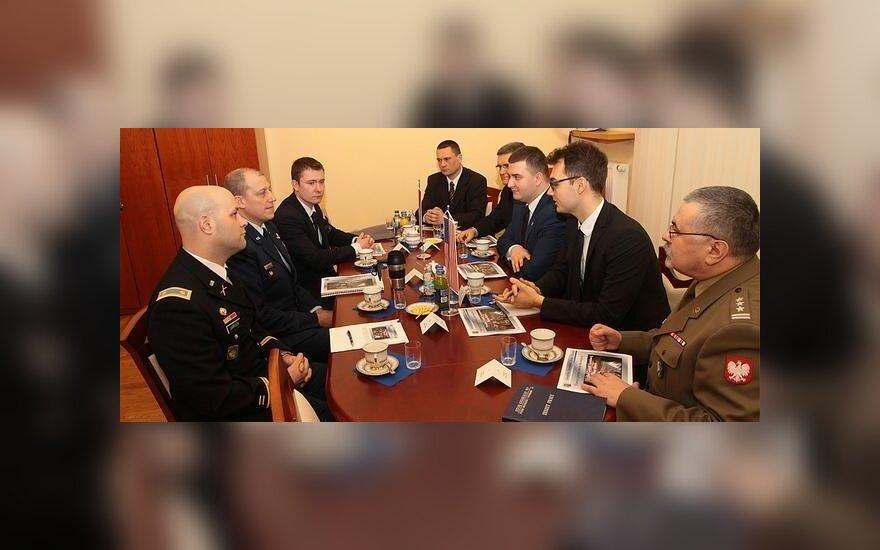 Współpraca Gwardii Narodowej stanu Illinois z MON RP. Fot. Maciej Nędzyński/CO MON