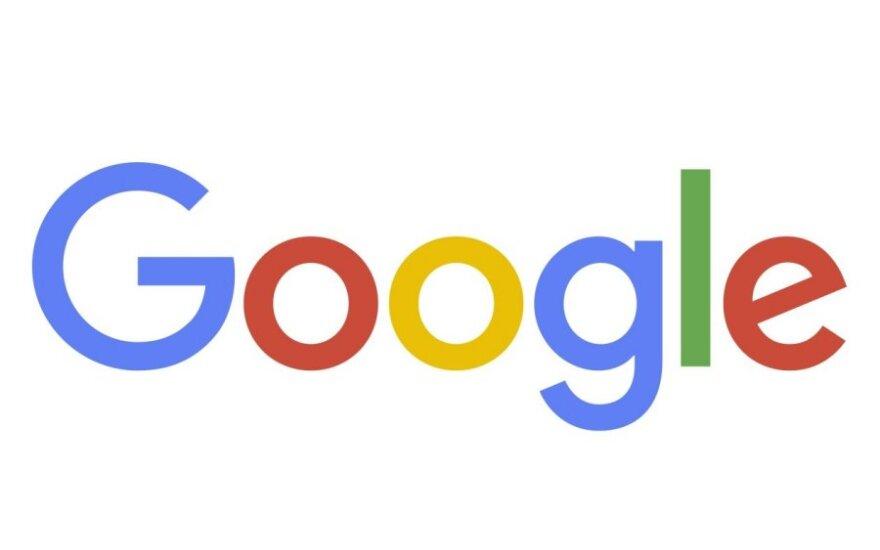 Naujasis Google logotipas