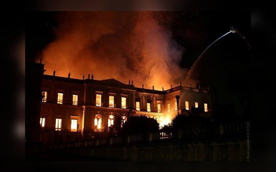 В Рио-де-Жанейро сгорел старейший музей Бразилии