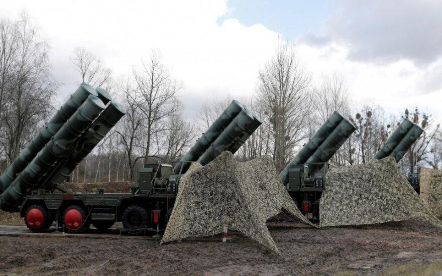 Oro erdvės gynybos sistemos S-400 Kaliningrade
