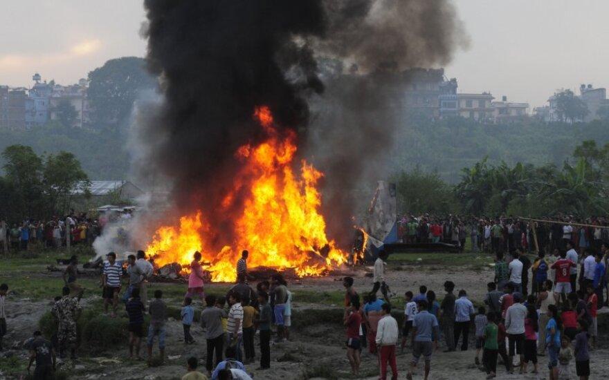 Крушение самолета в Непале: погибли 12 иностранцев