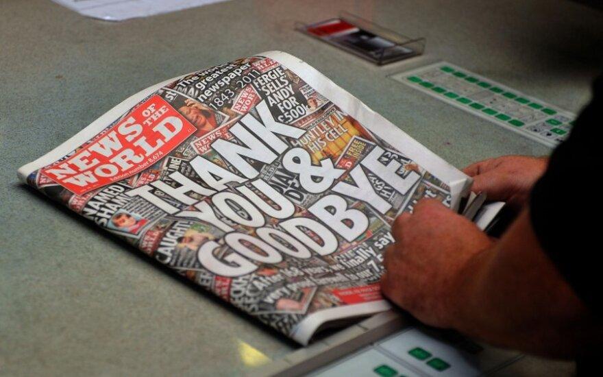 """Paskutinysis """"News of the World"""" numeris"""