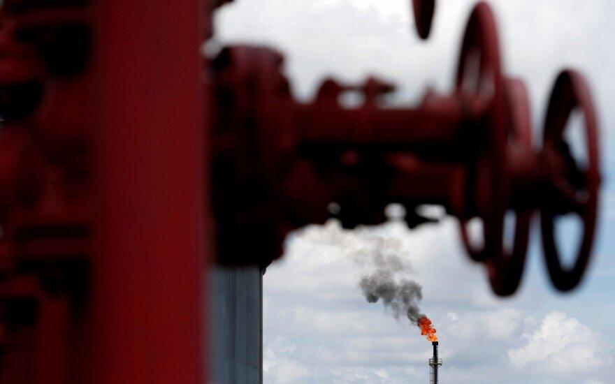 В Ханты-Мансийском автономном округе образовалось нефтяное озеро