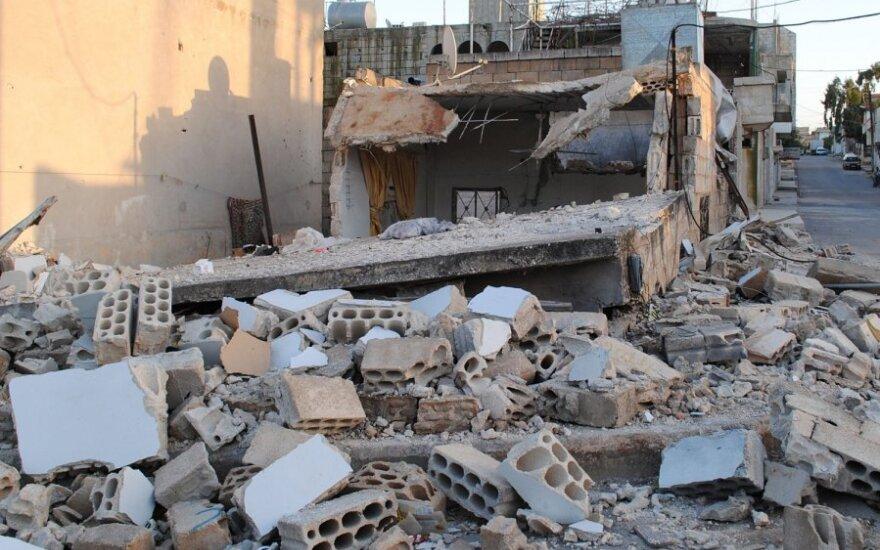 Sirijoje vyksta susirėmimai, režimo priešininkai taikosi į sostinę