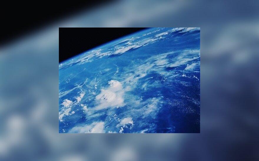 Vandenyno vaizdas iš palydovo