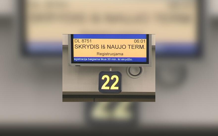Naujas oro uosto terminalas