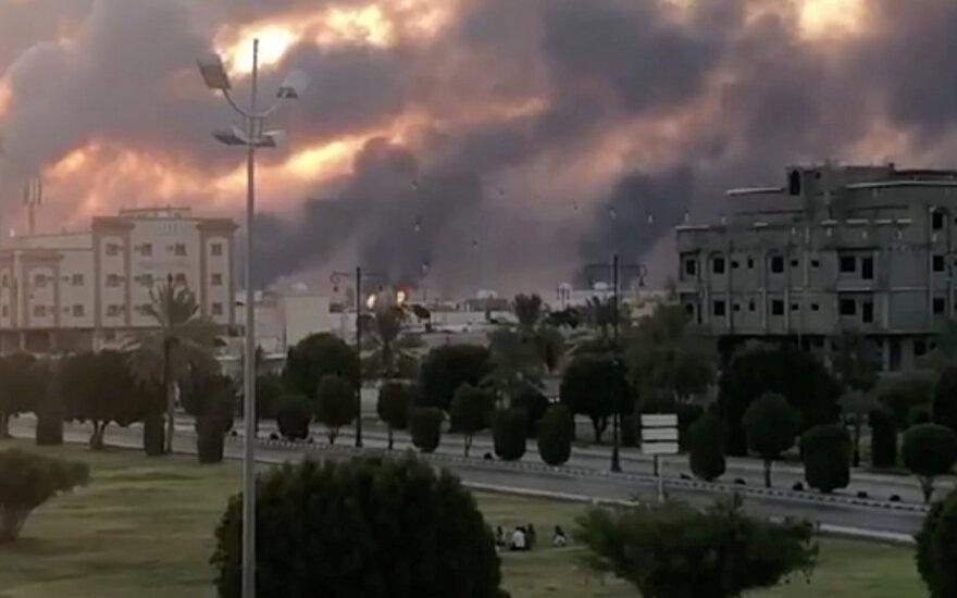 Крупные нефтяные объекты загорелись из-за атаки дронов в Саудовской Аравии