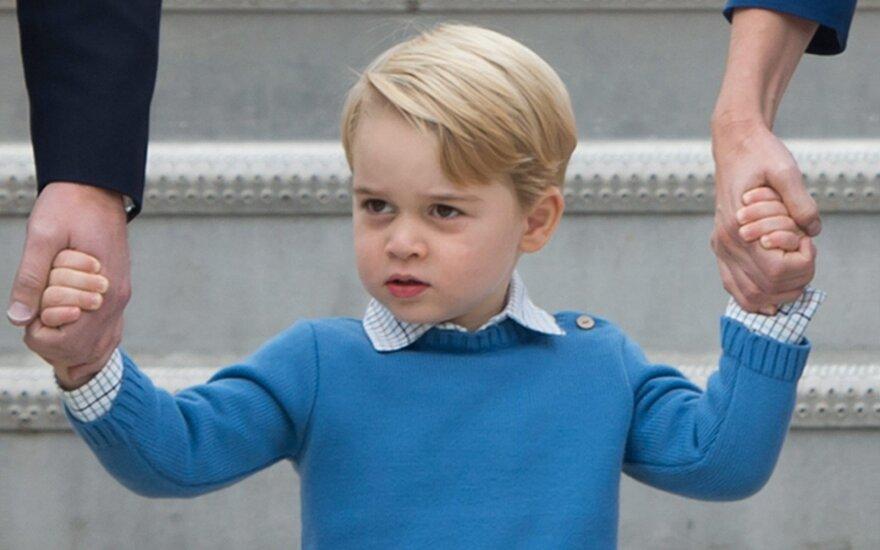 Почему принц Джордж носит шорты даже в холодную погоду?