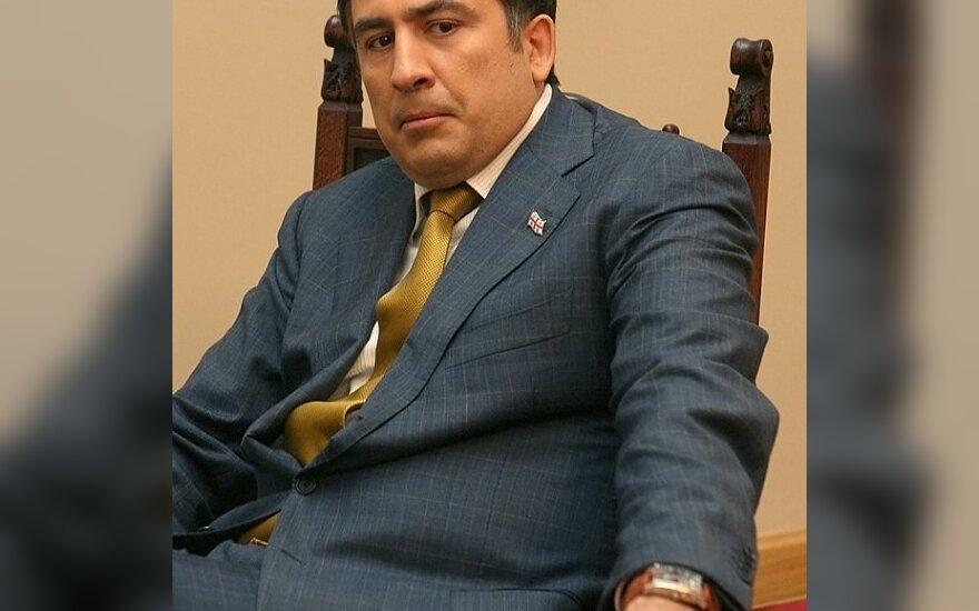 М.Саакашвили: США гарантируют помощь Грузии