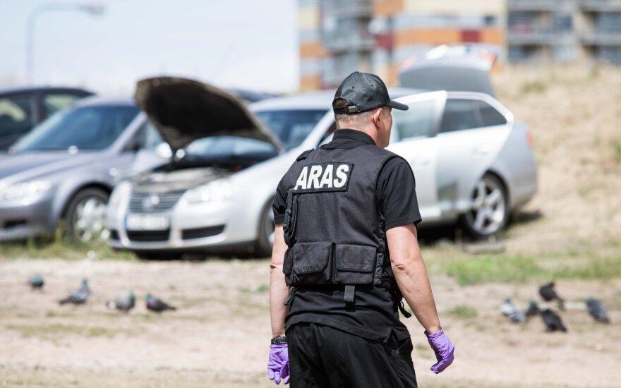 """В Вильнюсе обнаружен предмет, похожий на взрывчатку, введен план """"Щит"""""""