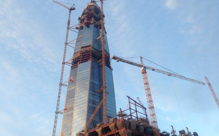Недостроенный небоскреб в Санкт-Петербурге стал самым высоким зданием Европы