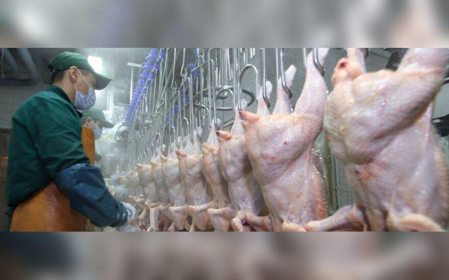 Kauno grūdai экспортирует курятину в Гонконг