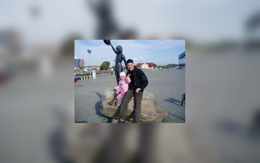 Michaelis Rinau su dukra Luisa