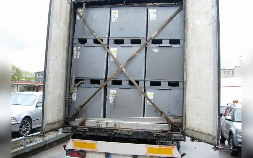W ciężarówce Polaka papierosy o wartości 1 mln euro