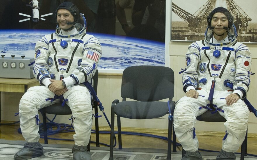 Astronautai Kjellas Lindgrenas, Kimiya Yui