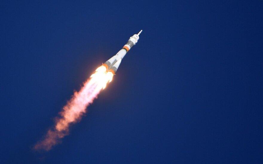 """Первый после аварии 11 октября пилотируемый """"Союз"""" стартовал к МКС"""
