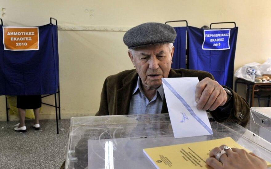 Умеренные партии проиграли выборы в Греции
