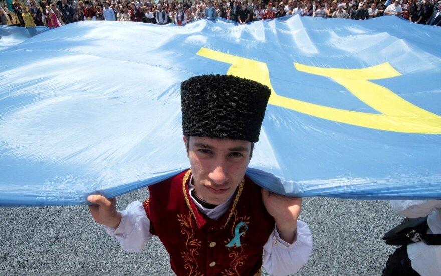 Годовщина депортации крымских татар: в Киеве прошел автопробег и митинг