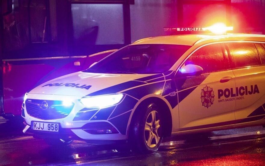 Пьяный водитель BMW доездился в Паланге
