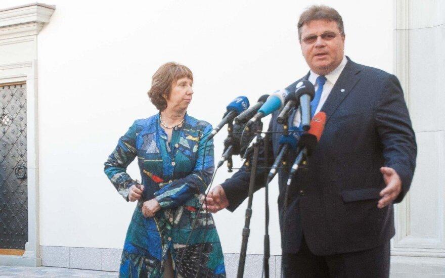 Глава МИД Литвы: относительно действий России консультируемся с Еврокомиссией