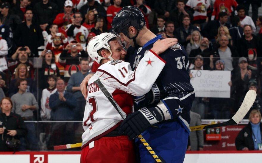 """NHL """"Žvaigždžių mače"""" Otavoje - net 21-as įvartis"""