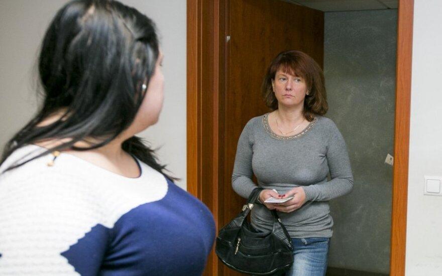 Monika Rulevičiūtė ir Svetlana Rulevičienė